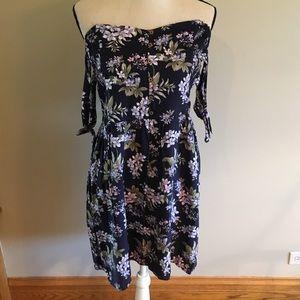 NWT American Eagle floral mini dress size XL